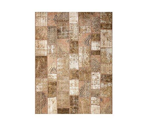 8'5,1cm x10' 9Martha Multi 'Overdyed' handgeknotet Wolle Türkisch Oriental Bereich Teppich (Oriental Bereich Teppich)