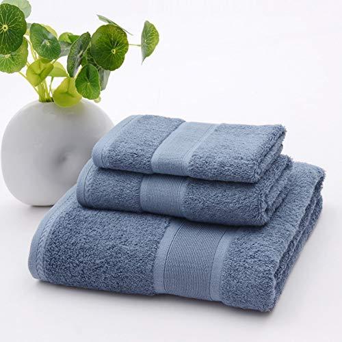 TDPYT 3 Teile/Satz Bambus Strand Badetücher Für Erwachsene Antibakterielle Rosa Blau Bad Handtuch Sets Gesicht Körper Waschlappen