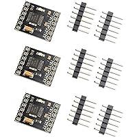 3 placas de propulsión motorizada trasera Arduino de CC con 2 canales H, 1,5 A, para impresoras 3D, de la marca HALJIADRV8833