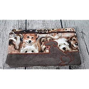 E-Book Tasche/Mäppchen, Kosmetiktasche Hunde