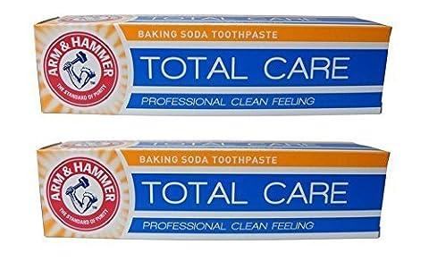 Bras & Marteau Total Soin Bicarbonate De Soude Dentifrice Professionnel Nettoyage En Profondeur Sensation Pâte pour dents