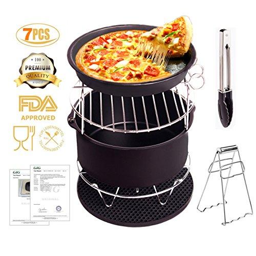 Die Fritteuse Zubehör Friteuse für Gowise Phillips und Cozyna Mit Nicht - stick Pan - material für Alle 3.7qt-5.3qt-5.8qt satz 5 für Kuchen, Pizza Grill [2 Praktische Geschenke]