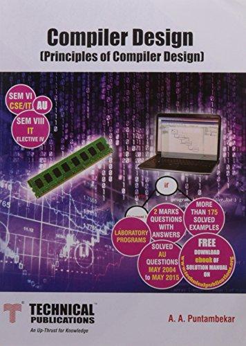 a puntambekar compiler design pdf free download
