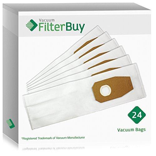24-Hoover Typ F Staubsaugerbeutel. Entworfen von filterbuy zu geeignet für Hoover Platinum Staubsauger.