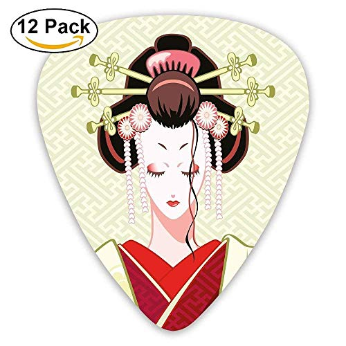 Geisha Woman Portrait Traditional Asian Kimono Maiko