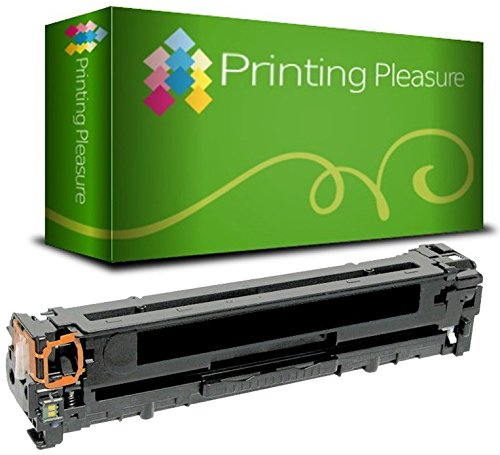 Preisvergleich Produktbild Printing Pleasure Toner kompatibel zu CF380X 312X für HP Color LaserJet Pro MFP M476DN M476DW M476NW - Schwarz,  hohe Kapazität