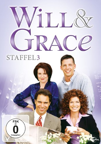 Will & Grace - Staffel 3 (4 DVDs)