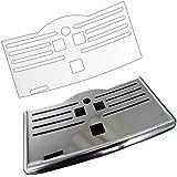3 x Schutzfolie für SAECO Incanto & PicoBaristo/Pico Baristo Deluxe/Incanto Deluxe/Series 5000 Abtropfblech - Tassenablage - Ablage - Tropfblech
