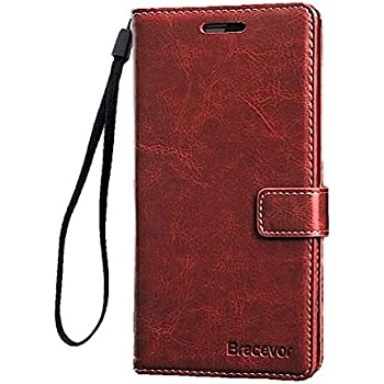Bracevor Leather Wallet Style Flip Cover With Stand for OnePlus 2 (Executive Brown)