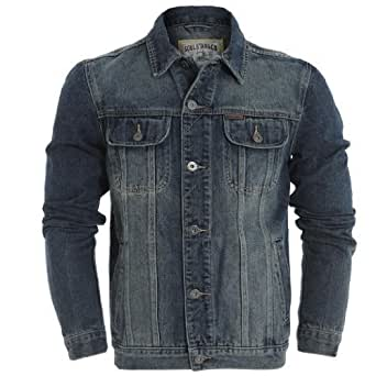 Mens Soulstar Plain Denim Jacket (MJ-LEONARD)