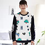 Nueva franela caliente pantalones pijamas de manga larga en invierno moda hombres y mujeres parejas grupos