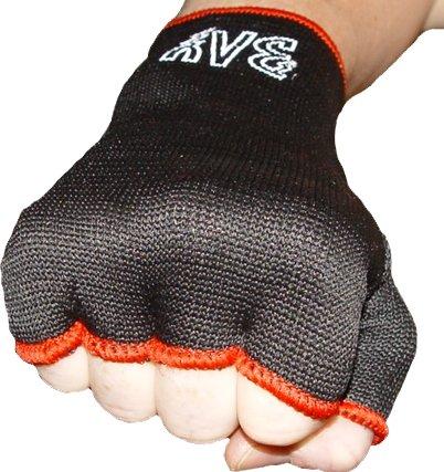 BAY Schlupfbandagen Größe M, schwarz, Faustbandagen, elastische Innenhandschuhe, Handbandagen,...