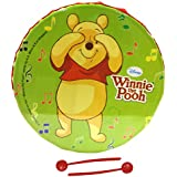 Musical Toy Marching Snare Drum Set For Kids Musical Instrument For Boys & Girls - 8.3 Inches Diameter Disney Winnie Pooh Theme