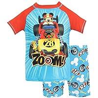 Disney Bañador de dos piezas para niño Mickey y los Súperpilotos