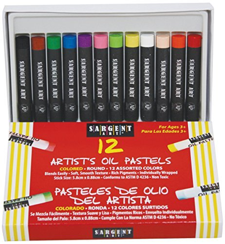 Sargent Art 22-2017 12-Count Oil Pastels by