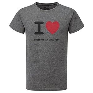 JOllify FREIBURG IM BREISGAU T-Shirt mit hochwertigem Druck für Sport und Freizeit