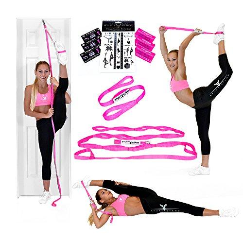 Stunt Stand Tür Flexibilität und Stretching Bein-Bügel-Rosa