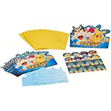 Amscan International 491844 Invitation Pokémon avec enveloppe
