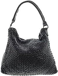 4a381b288c202 MIO Sun weiche Damen Tasche Vintage Ledertasche Schultertasche Frauen Beutel  Taschen Handtaschen Umhängetasche geflochten…