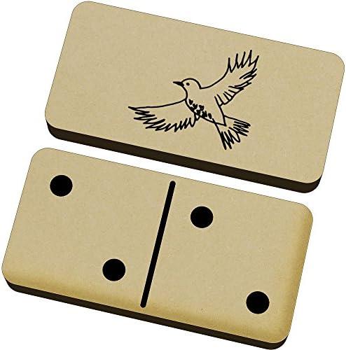 Azeeda 'Vol Jeu d'Oiseau' Domino Jeu 'Vol et Boîte (DM00013565) B06XGY77ZF d80027