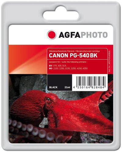 agfaphoto-apcpg540bxl-tinte-fur-canon-mg2150-662-seiten-schwarz