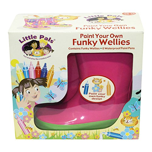tierra-garden-7-lp414-little-pals-kids-paint-your-own-funky-wellies-pink-with-green-trim-size-small-
