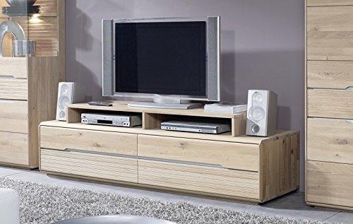 OSLO meuble TV #142 Chêne sauvage massif clair huilé