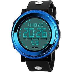 Amstt Unisex Sport Kids Watches Boys Girls Digital Waterproof Alarm Wristwatch for Age 7-15 Year Old Childrens(Green)