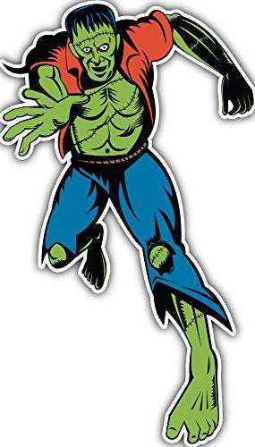 SkyBug Dr Frankenstein Monster Bumper Sticker Vinyl Art Decal for Car Truck Van Window Bike Laptop