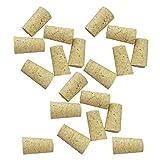 non-brand Sharplace 20 Pedazos de Tapón de Botella en Forma Cónico de Madera Apto para Botella de Vino - Para la botella de vino rojo