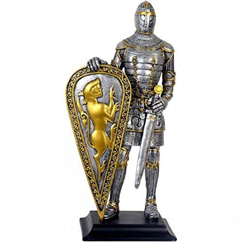 Deko Ritter Rüstung mit Löwenschild # Mittelalter
