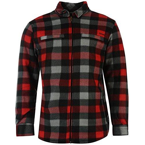 mens-lee-cooper-lumberjack-winter-sherpa-fleece-lined-jumper-shirt-xl-extra-large-rrp-3499