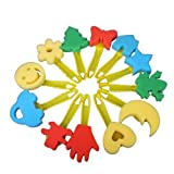 Best Mesas de arte genérico - 12pcs De Colores Diferentes Formas Los Ninos Hijos Review