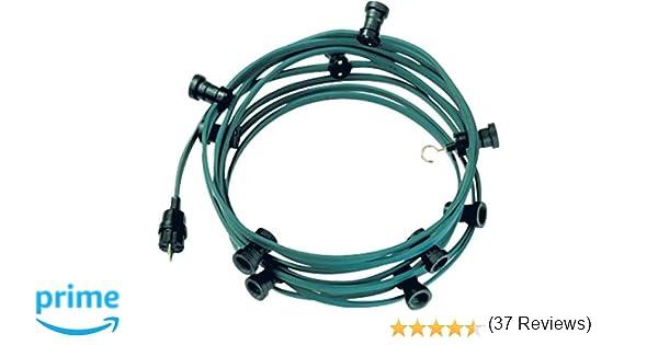 Bachmann 740.005 catena di luci con spina connettore e 10 porta