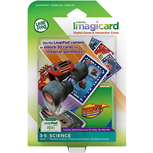 LeapFrog 39306 Imagicard Blaze et Le Monstre Machines
