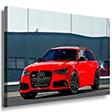 Audi RS 6 Leinwandbild LaraArt Bilder Mehrfarbig Wandbild 120 x 80 cm