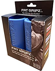 Fat Gripz Ultimate Hantelgriffe, Ø 5,7cm , blau, 854078001014