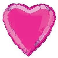 Esclusivo palloncino in mylar a forma di cuore di colore fucsia. Ideale sia da appendere che come addobbo da terra, per decorare in maniera originale e chic i tuoi eventi speciali. Dimensioni: 9 pollici, circa 23 cm. Pezzo singolo.