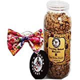 Douge Couture Combo Pack Of Puppy Chicken Biscuit - 1Kg & Dog Tie