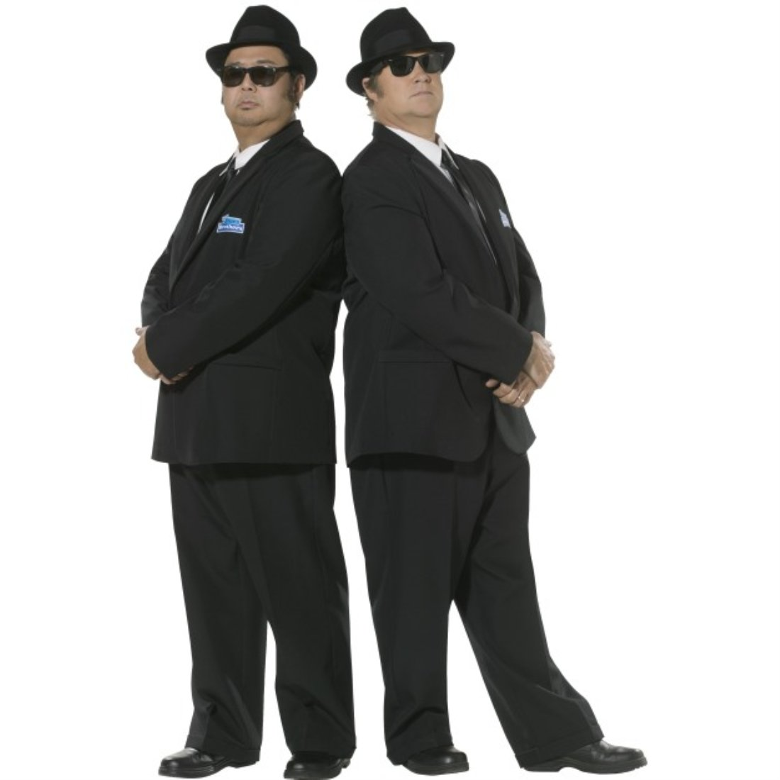 Smiffy's Men's Blues Brothers Costume, Suit Jacket & Trousers ...