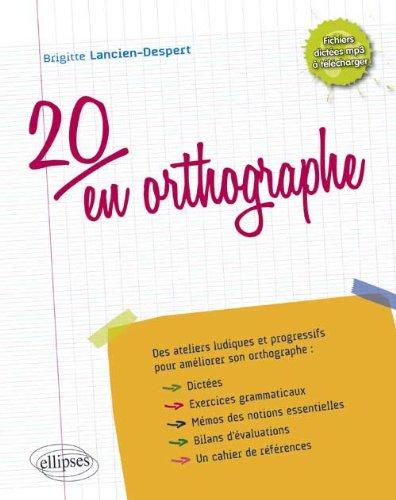 20 en Orthographe