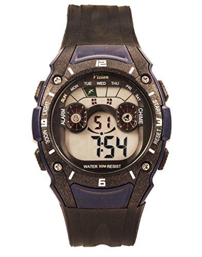 Vizion 8015039-3 DIGIWORLD Digital Watch For Unisex