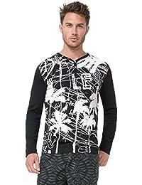Desigual Tee-shirt Manolo Noir 72t14h3