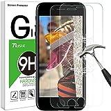 iPhone 8 Plus 7 Plus Panzerglas Schutzfolie [2 Stück], Rusee 9H Gehärtetes Glas Panzerglasfolie Hartglas Displayschutz Schutzglas Displayschutzfolie für iPhone 8 Plus/7 Plus/6 Plus/6S Plus (5.5 Zoll)
