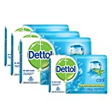 Dettol Cool Soap, 3x75g with Free Soap, 75g