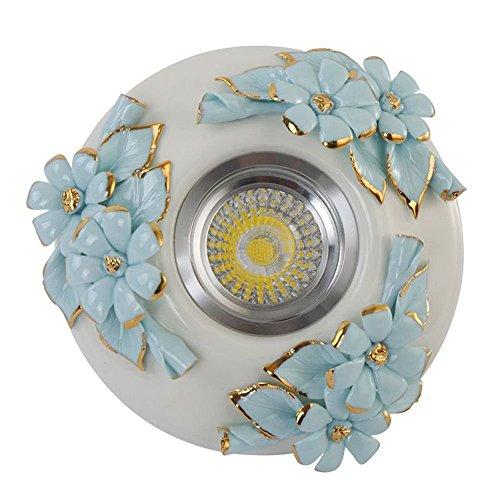 europeenne-ceramique-fleurs-spots-led-mode-salon-chambre-a-coucher-allee-balcon-couloir-plafonniers-