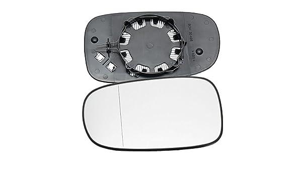 GOZAR Voiture Droite C/ôt/é Conducteur Porte Miroir Aile Grand Angle pour Saab 9-3 93 2003-2010