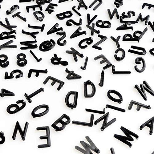 Pack Letras Tablero Fieltro Intercambiables Letters