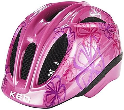 KED Meggy Trend Helmet Kids Violet Flower Kopfumfang 52-58 cm 2017 mountainbike helm downhill