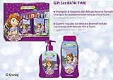 Set regalo per neonata bambini Disney principessa Sofia–shampoo e balsamo 250ml + corpo sapone liquido 250ml